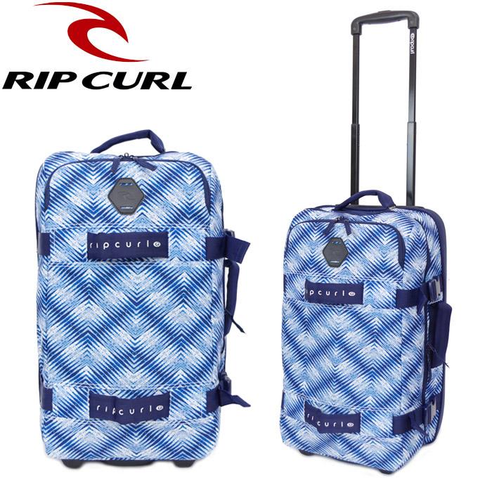RIPCURL/リップカール キャリーバッグ 機内持ち込み メンズ キャリーケース スーツケース 軽量 F-LIGHT TRANSIT LAST LIGHT ブルー 50L U03-951 トラベルバッグ 旅行 ソフトキャリー サーフ ビジネス 送料無料