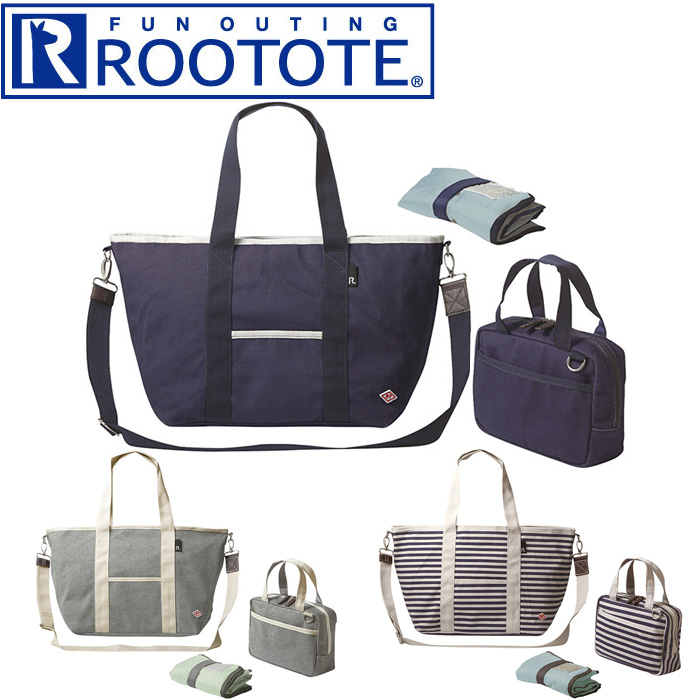 All shoulder bag mother bag attending school that three colors of 1541  shows cute goes to work at roux Thoth tote bag mammy lur Dis ROOTOTE SN  コットン ... 2d94a4d4b1