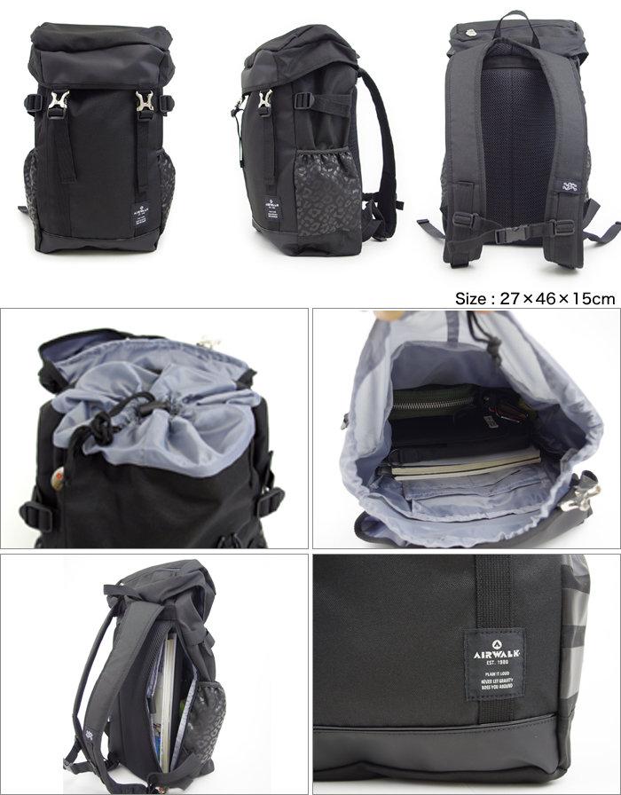 Luc AirWalk rucksack backpack daypack mass commuting women s men s AIRWALK  a1650022 be295581fa