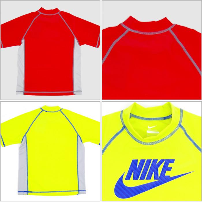 出疹卫兵初中短袖学校耐克学校泳装孩子儿童短袖 UV 皮疹警卫队 1981421