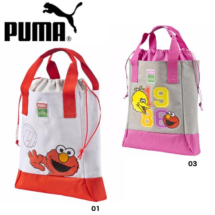 a6355b9f55af6a zakka green  PUMA PUMA bag kids junior Tote shopping bag grey Sesame ...
