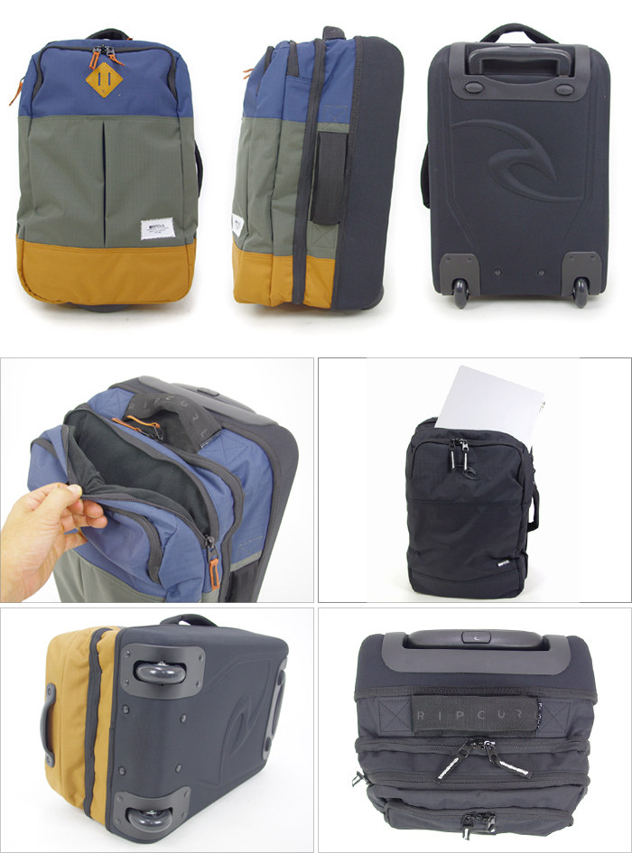 8d8b598b5403 Carry bag on board carry-on case Rip Curl RIP CURL X01940 31L soft domestic  line carry-on size soft carry surf brand travel bag men women