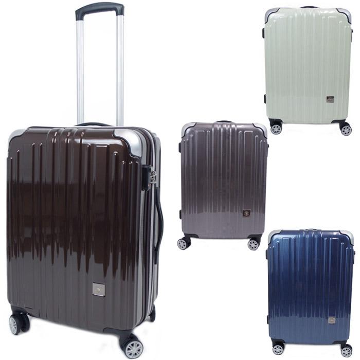キャリーケース Mサイズ 拡張型 ファスナー ハードキャリー スーツケース 全4色 60L 4-6泊 SBP-5201 無償受託荷物対応 トラベルケース キャリーバッグ 旅行 出張 送料無料