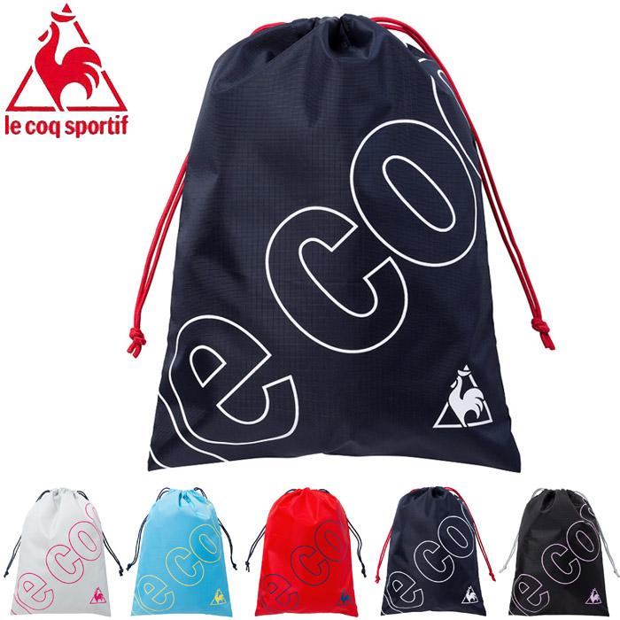 c036b2c8459d All five colors of le coq sportif Le Coq Sportif multi-background S men    Lady s   kids knapsack drawstring purse QMALJA10 gym case laundry bag  fitness ...
