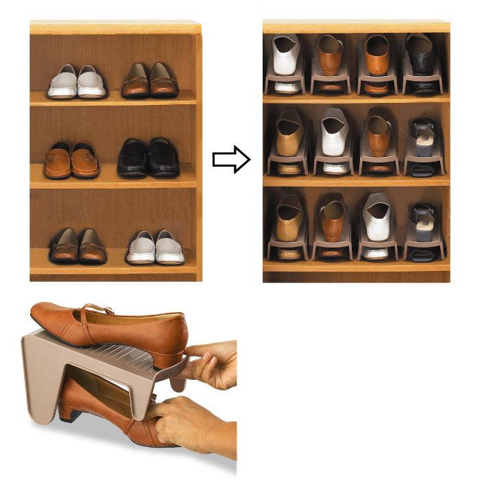 Ministry Of Space Shoe Storage 1/2 Five Set Men And Women And For Shoe Box  Storage Entrance Storage Shoe Rack Shoe Box Storage Gadgets Shoes Box  Slippers ...