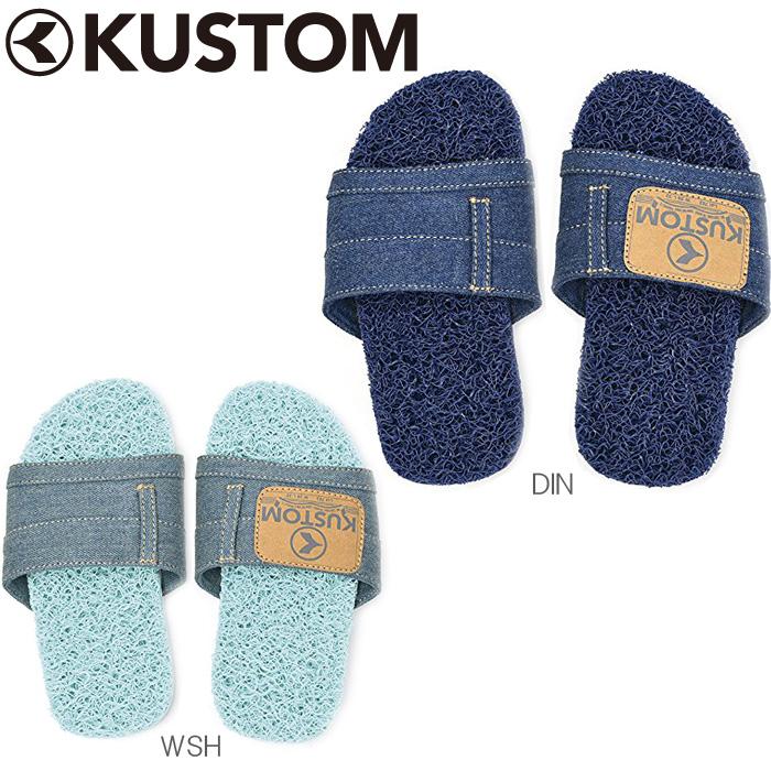 9584a137dd8 Kustum/ custom beach sandal kids Kid's Kadillac Denim noodles wire sandals  navy / blue 18cm