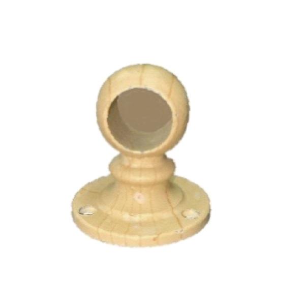 激安卸販売新品 安全 パイプ支持 パイプジョイント 白木ブラケット止16mm パイプ接続