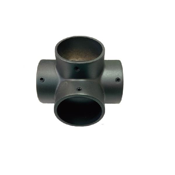 パイプジョイント ランキングTOP10 パイプ支持 パイプ接続 アウトレット ブラック四方エルボ19mm回転止ネジ付