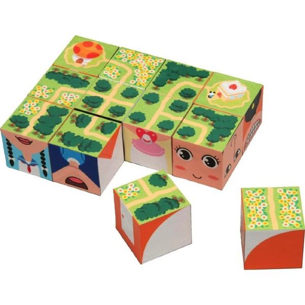高品質 そうぞうキューブ 3WAY 知育玩具 送料無料 優先配送 頭がよくなるパズル