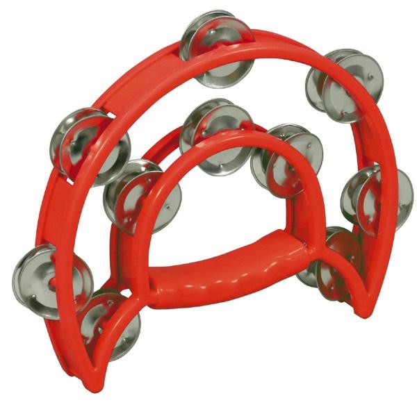 ダンスタンバリン 永遠の定番モデル 赤 楽器 買取 送料込み