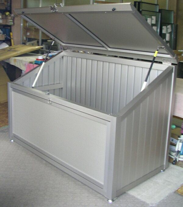 ゴミ収納庫CRステーション 大型ゴミ箱 ゴミストッカー ゴミ箱 1809 (間口180cmx奥行90cmx高さ121cm) 組立・設置工事費込み