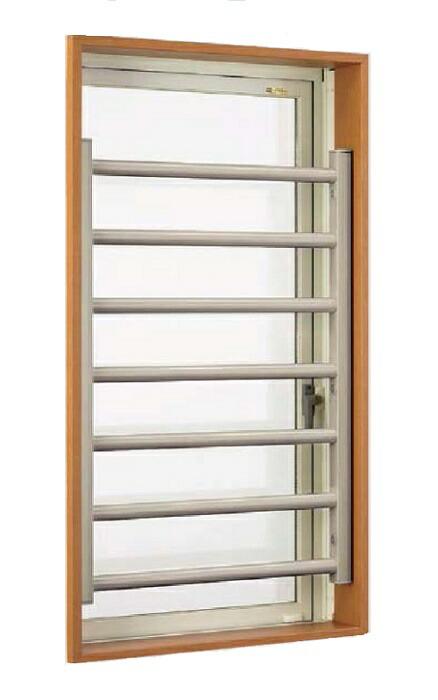 室内面格子(固定式) (縦)460mm×(横)260mm LIXIL 02607 完成品 防犯対策 木造住宅 アルミ 簡単施工 太格子 安心安全