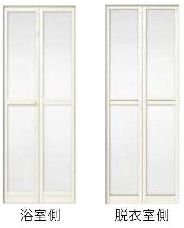 LIXIL リフォーム浴室中折ドア 人気ブランド多数対象 W845×H2037mm 品質保証 アタッチメント工法