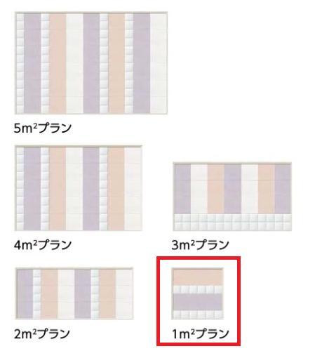 エコカラット デザインパッケージ FEMININE フェミニン 1m2プラン 工事費込み さいたま市・上尾市 限定