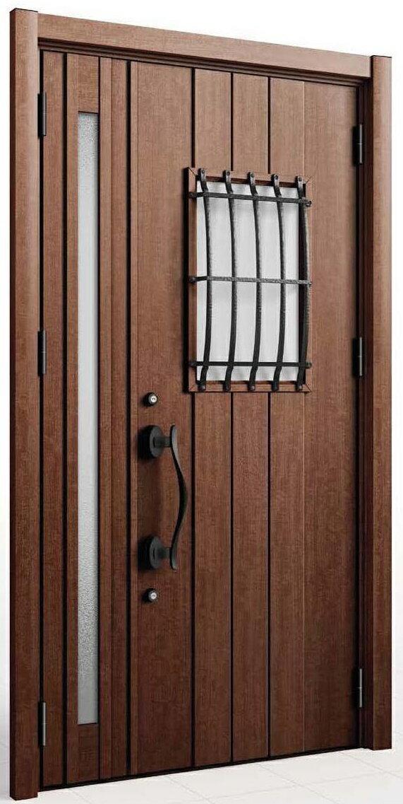 【さいたま市内 標準価格】次世代住宅ポイント D44型 LIXIL/リクシル リシェント3 リフォーム 玄関ドア 取替え 交換 断熱仕様 親子 簡単施工 1DAYリフォーム 片開き・ランマ付等対応可【工事費込み】