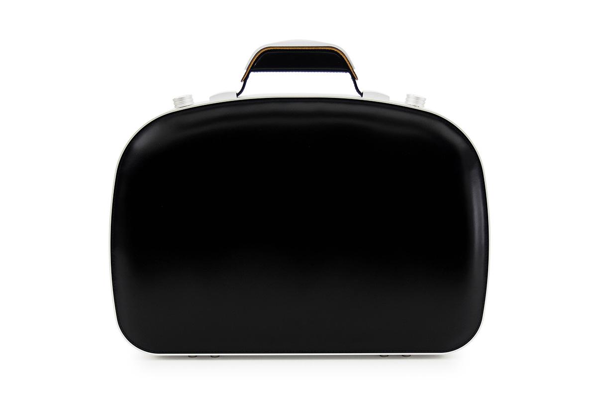 BLAUDESIGN ブラウデザイン ブリーフケース ブラック レザー 黒 本革 メンズ ビジネスバッグ 通勤 アルミフレーム