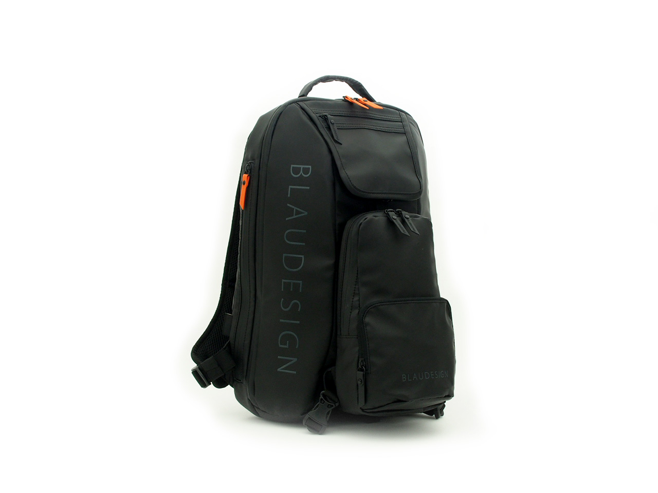 BLAUDESIGN City Tourist ブラウデザイン 3WAY バックパック ブラック 旅行 メンズ 防水 多機能バッグ リュックサック 通勤バックパック ボディバッグ