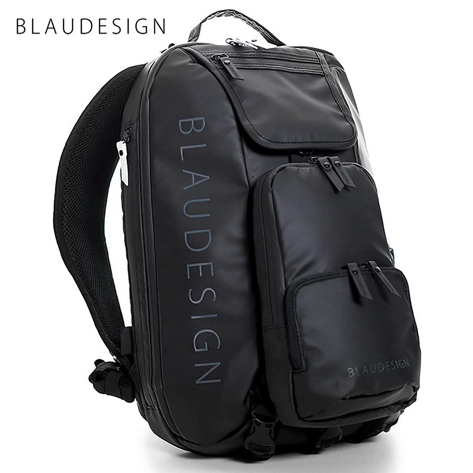 ブラウデザイン シティツーリスト BLAUDESIGN City Tourist 3WAY バックパック ブラック/ホワイト 旅行 メンズ 防水 多機能バッグ リュックサック 通勤バックパック 脱着式ボディバッグ
