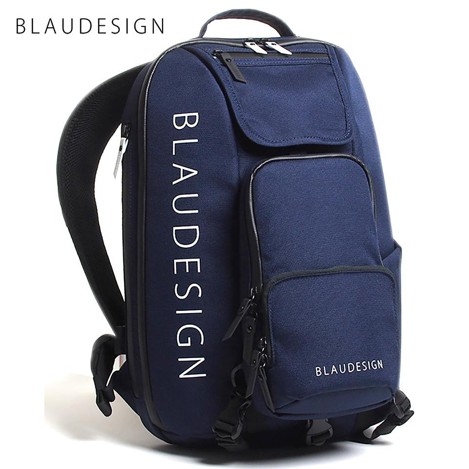 ブラウデザイン シティツーリスト BLAUDESIGN City Tourist 3WAY バックパック ネイビー/ホワイト 旅行 メンズ 防水 多機能バッグ リュックサック 通勤バックパック 脱着式ボディバッグ