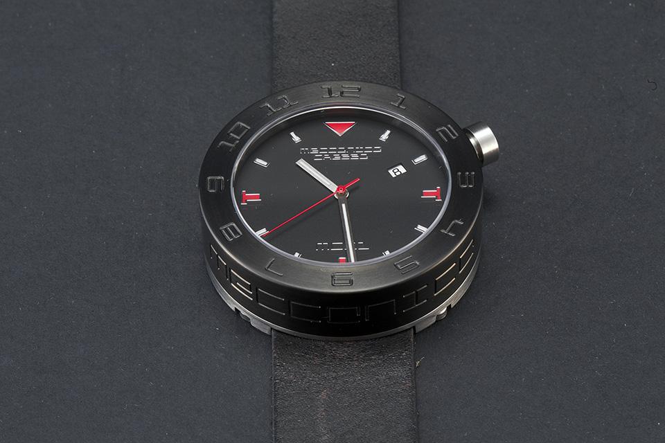 MECCANICA GREZZA(メカニカ・グレッザ) MG01 44B BK-BK ブラック/ブラック/ブラック イタリアンデザインウォッチ メンズ機械式腕時計