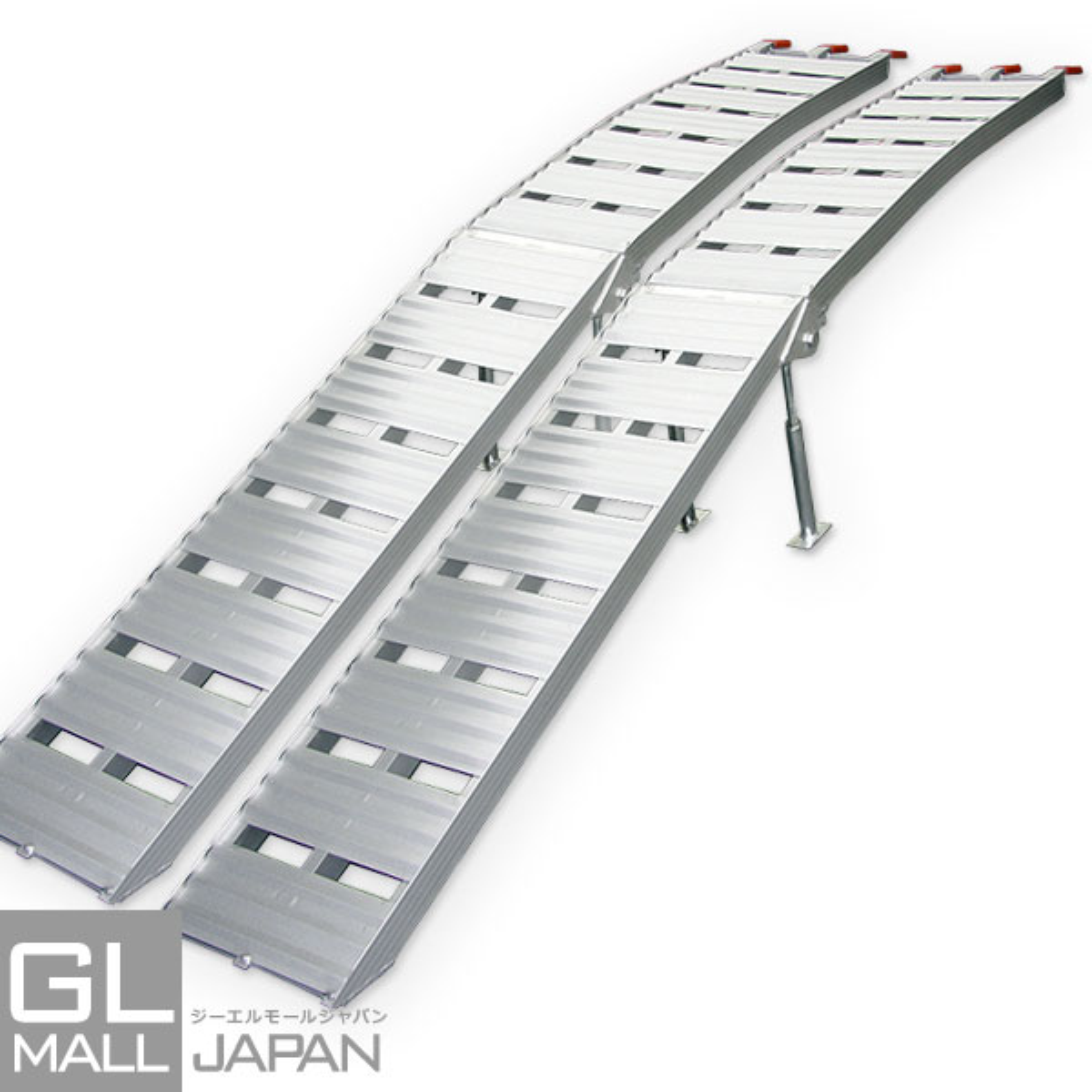 アルミラダーレール Type-B 2本SET 折畳式 耐荷重500kg / アルミブリッジ(8.5kg)_SN