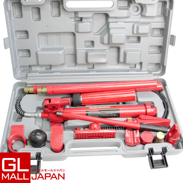 油圧式ロングラムジャッキ 10t / ポートパワーセット