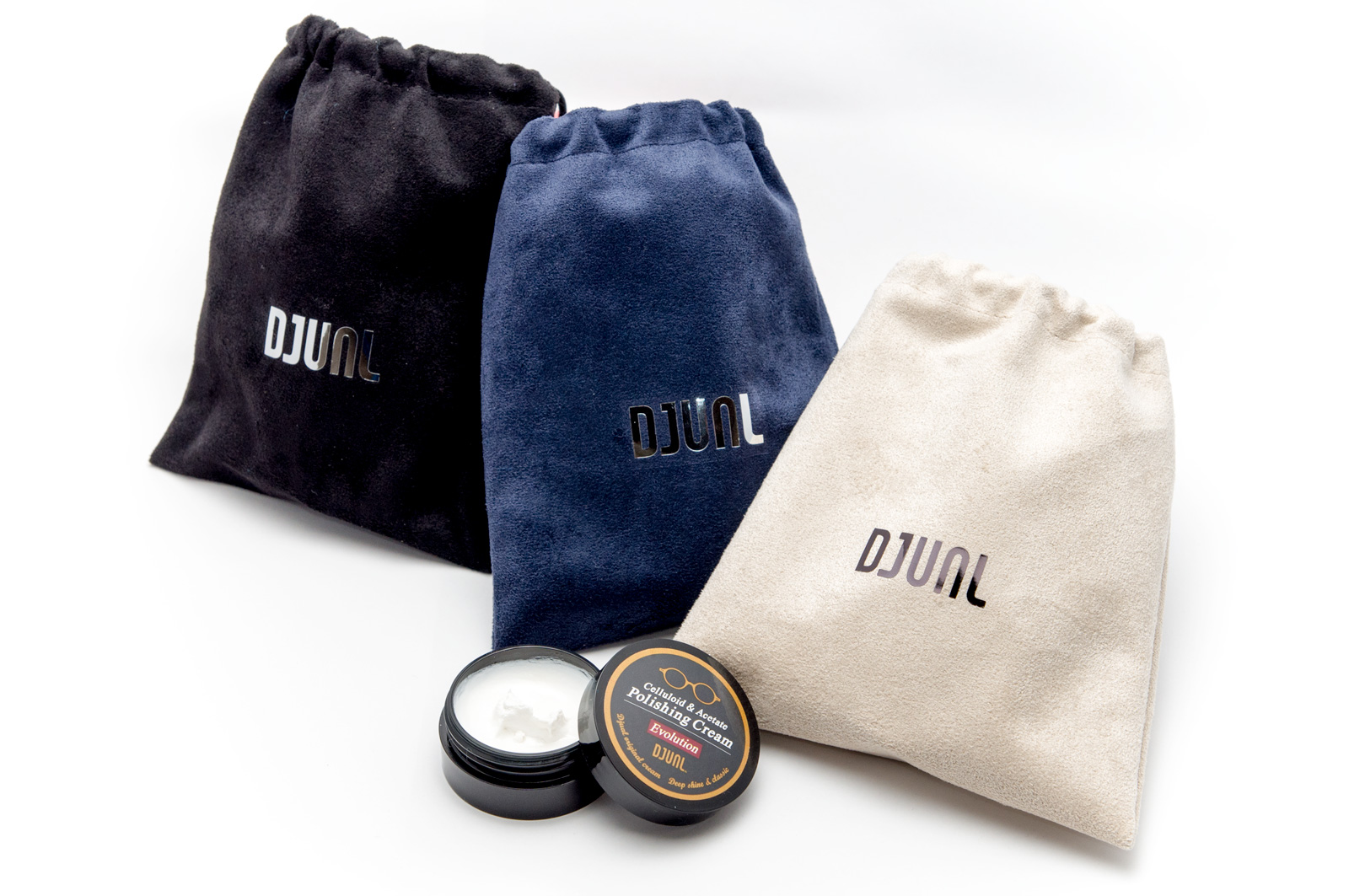 Cell frame polishing DJUAL (dual) celluloid & アセテートポリッシングクリーム