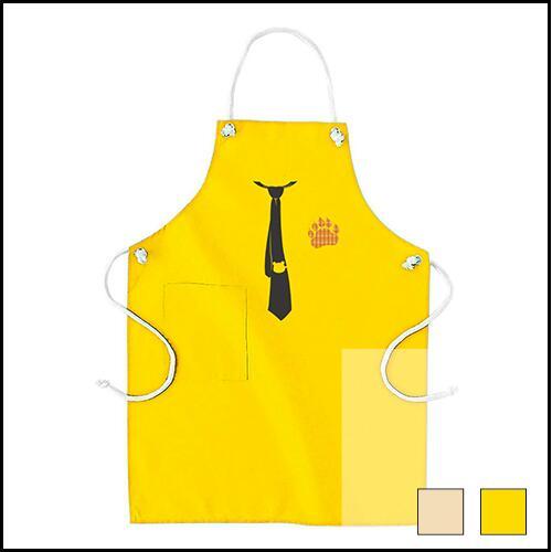 大きいサイズのメンズ服グラマラスストア エプロン クマさんタイピン2 イエロー ナチュラル NEW売り切れる前に☆ 発売モデル