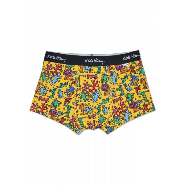 4e079c129 KEITH HARING ALL OVER TRUNKWith the vigor full of the senses of fun that  printed masterpiece AllOver of cute Keith Haring in celebration of love and  art as ...