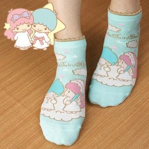 Little Twin Stars - 女士船袜 / 3767-233 / 日本制 / 所有产品均享10倍积分 !!