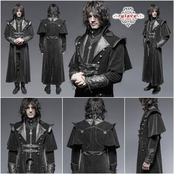 ゴシック 貴族 :・ 軍服 □中世 ゴシック 編み上げベルト付き