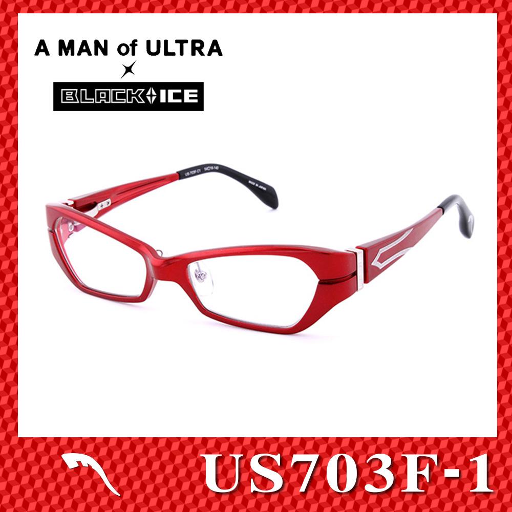 A MAN of ULTRA×BLACK ICE
