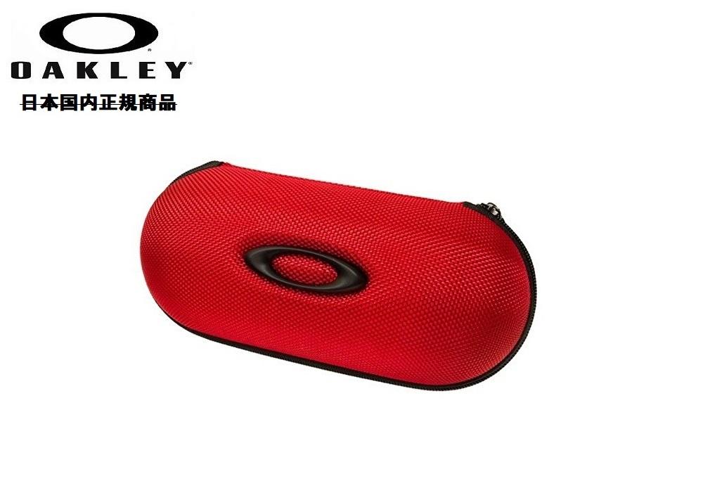 国内正規商品 OAKLEY 供え 往復送料無料 オークリー サングラス EYEWEAR CASE アイウェア BALLISTIC LARGE 100-286-001 RED SOFT VAULT ケース