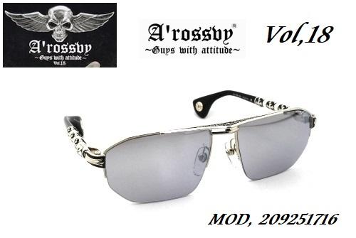 ★ロズヴィー/ロズビー(A'rossby)Vol.18【209251716】サングラス【限定生産品】