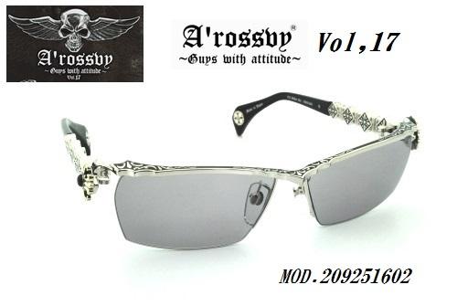★ロズヴィー/ロズビー(A'rossby)Vol.17【209251602】サングラス【限定生産品】