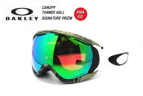 オークリー(OAKLEY SNOW GOGGLE)スノーゴーグル【CANOPY TANNER HALL SIGNATURE PRIZM ASIA FIT】キャノピー OO7081-21 眼鏡対応モデル!