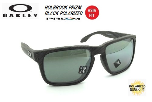 オークリー(OAKLEY)サングラス【HOLBROOK PRIZM BLACK POLARIZED ASIA FIT】OO9244-4556