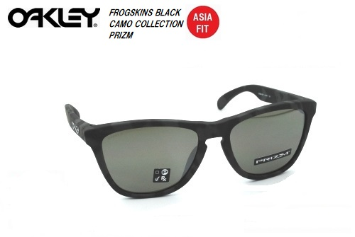 オークリー(OAKLEY)サングラス【FROGSKINS BLACK CAMO COLLECTION PRIZM ASIA FIT】OO9245-6554