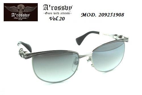 ★ロズヴィー/ロズビー(A'rossby)Vol.20【209251908】サングラス【限定生産品】