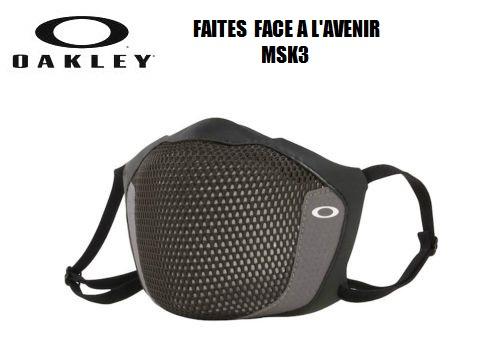 あす楽 2021モデル 高性能飛沫防止マスク ご予約品 オークリー OAKLEY 001 公式ショップ フェイスマスク MSK3 マスク AOO0036AC