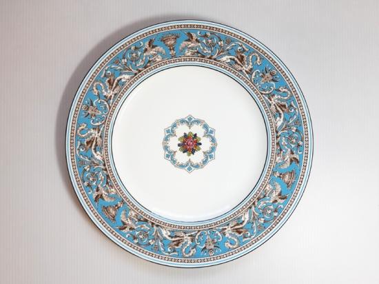 ウェッジウッド プレート■フロレンティーン ターコイズ ディナープレート 皿 1枚 1級品