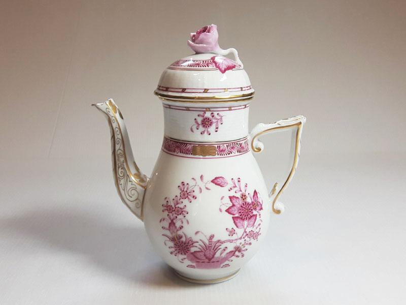 品質が ヘレンド ポット?インドの華 ピンク コーヒーポット 1個 1個 HEREND ヘレンド 1級品 HEREND 美品:グラスクラシック 店, ミカツキチョウ:2dd87915 --- nagari.or.id
