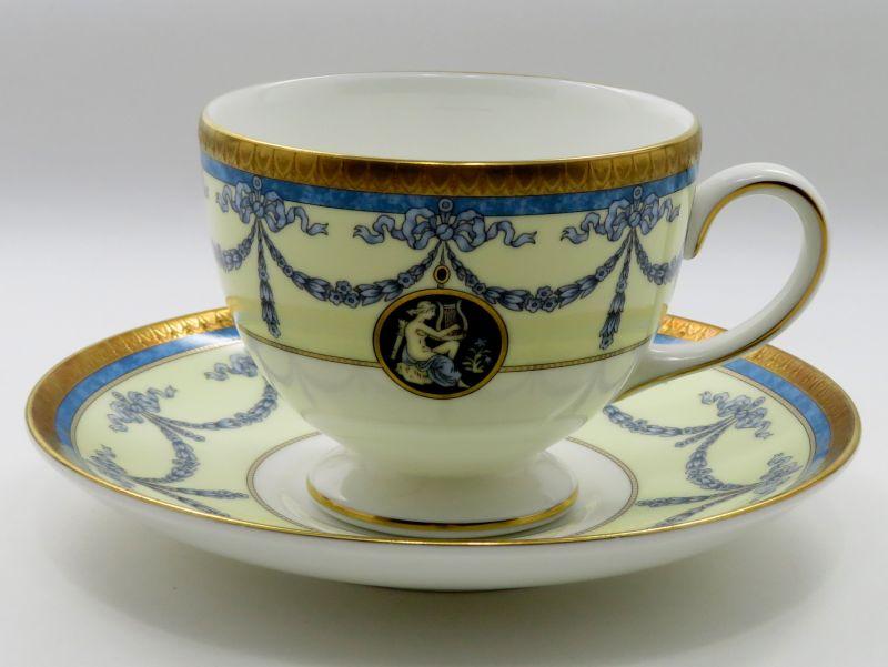 ウェッジウッド カップ&ソーサー■マデリン コーヒー C&S ブルー 青 1客 Madeleine 1級品