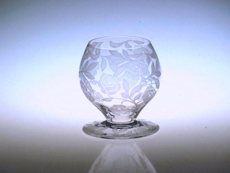 バカラ グラス ● シュバリエ ローズ フォントネー リキュール ショット グラス バラ 薔薇 Fontenay Rose