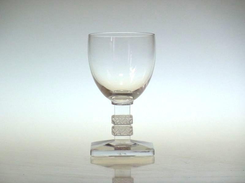 ラリック グラス ● アルゴス リキュール グラス ショット 四角 スクエア Argos