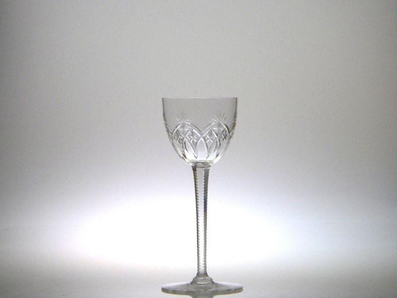 オールドバカラ グラス ● ホック ワイン ライン ワイン 背の高い カタログ掲載品 クリスタル 希少