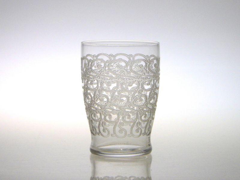 オールド バカラ グラス ● クヴィユ ローハン タンブラー グラス 7.5cm アンティーク Govieu