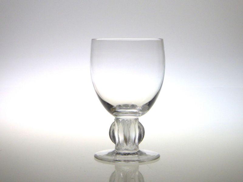 アンティークラリック グラス ● アルジェ ワイン グラス クリスタル R Lalique Alger