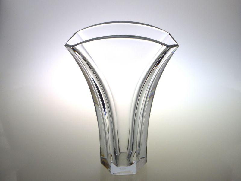 バカラ 花瓶 ● ギンコ 銀杏 イチョウ フラワーベース ベース クリスタル Gingko