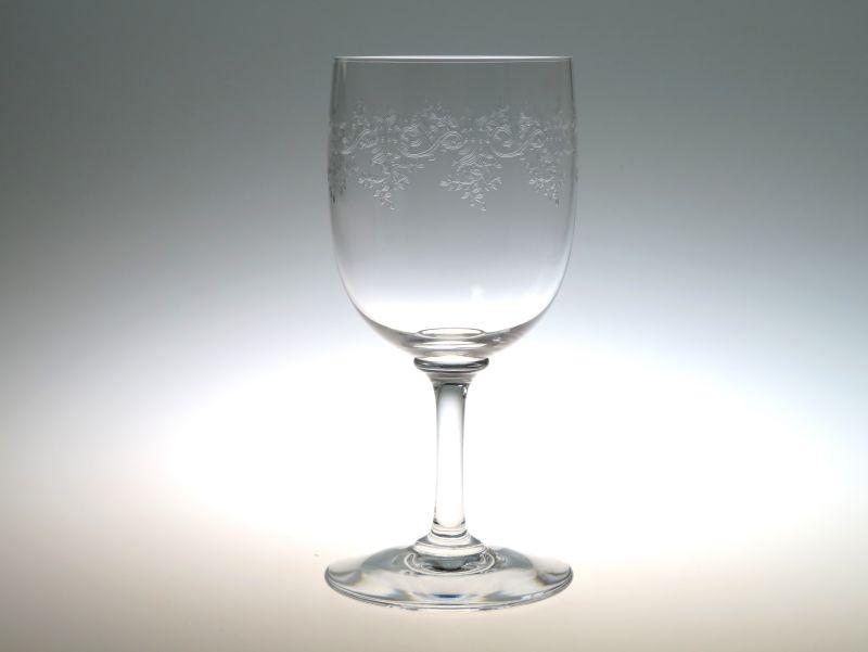 バカラ グラス ● セビーヌ ウォーターゴブレット エッチング クリスタル Sevigne